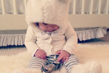 Winter baby girl outfit