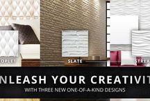 3D Wall Panels / Wall Dimension brings to you an exclusive range of 3D Wall Panels which are truly environment friendly. Check out these cool embossed 3S wall covers we offer. http://www.walldimension.com/