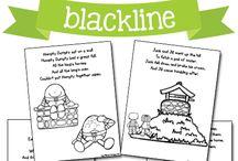 pre-school: nursery rhymes