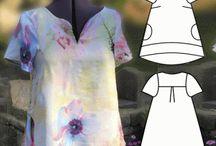 Sy mönster kläder