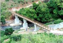 The Bridge / The footbridge across the Weruweru River, Tanzania