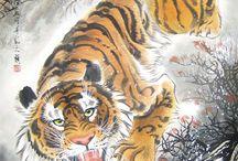 Tiger tatovering