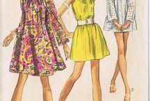 Vintage dress patterns / Sewing patterns