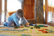 Indoor Tree House / Welcome to our indoor tree house! Be sure to check out the blog post for all the fun details!