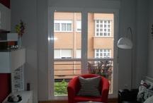 Piso sin decorar / Lo importante que es decorar unas ventanas y darle un estilo personal a tu vivienda.