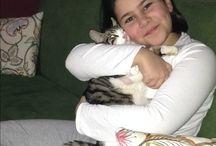 Kızım ve kedim