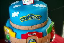 Traintastic cakes! / The best birthday cakes featuring Brewster, Wilson, Koko and co! #Chuggington