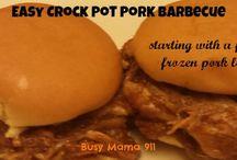 Main Dishes- Pork
