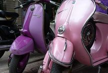 Scooters / Classic Vespas and Lambrettas / by Neil Fulcher