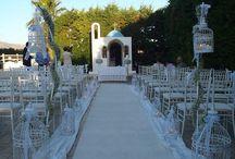 Vintage στολισμός γάμου Casarma κτήμα / Στολισμός γάμου Vintage με κλουβιά και γυψόφυλλο στο κτήμα Casarma ( Χαλκίδος, Αχαρνές, Ελλάδα ).