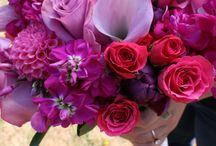 Pinks / Pink wedding flowers