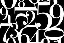 шрифт цифры