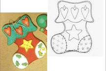 winter/christmas crafts / by jocelyn armstrong