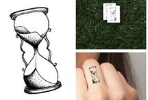 Tattoo ideas hourglass