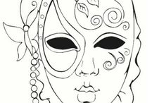 masky tvář