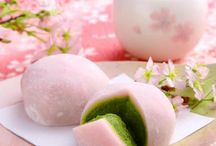 Sakura Spring / Sweet, cute, fun! Celebrating cherry blossom madness, matcha, and other Japanese treats in spring.