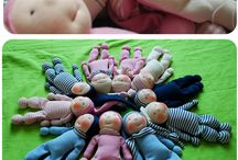 Puppen Spielzeug nähen