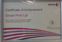 Awards / Here are some of the awards we have won so far. These include both outstanding contribution and outstanding performance in 2013 and 2014. For more information on our products please visit our website: www.smartprint-uk.com Or contact us at: social@smartprint-uk.com