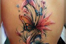 Tattoo vlinders