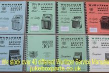 Jukebox Service Manuals / A selection of Service Manuals that we stock at www.jukeboxparts.co.uk