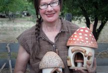 Tuin huis voor kikkers
