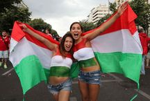 Hungary Fans Girls