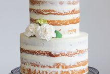 Naked Cakes / Naked Cakes never have too much frosting. They are great for DIY weddings and new cake makers too.