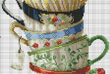 Cross Stitch Patterns & Flowers  / by Hatice Kefeli