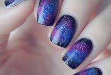Paznokcie galaxy