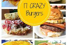 Unique Burgers / Unique and crazy burgers