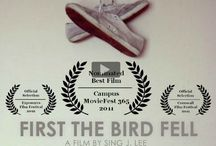 British actor David Frampton First the Bird Fell 4 min short film / During an interview, a reporter forces the former champion now recluse John Kelly to recall the ideas and memories of what it was to run.