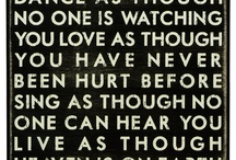 Quotes, special words