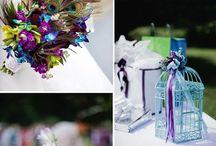 Turquoise&Purple Wedding