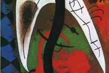 JOAN MIRÒ. / Catalan Spanish Painter and Sculptor. 20 April 1893 - 25 December 1983.