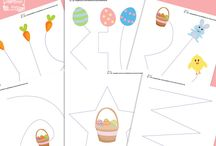 Easter / Easter related crafts, printables, books, and activities.