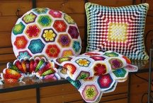 Crochet pillows / by Meredith Love
