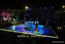EKDILOSIS events services / Ενοικιάζουμε εξοπλισμό εκδηλώσεων με προϊόντα κατάλληλα,να ενισχύσουν και την δική σας εκδήλωση dj,για γάμο,πάρτυ,εγκαίνια,με ουσιαστικά αποτελέσματα,παρουσιάζοντας προτάσεις βασισμένες στον σχεδιασμό του ήχου,του φωτισμού,λύσεις για έπιπλα εκδηλώσεων,τέντες εκδηλώσεων,πίστες χορού,πάντα πλαισιωμένες από εξειδικευμένο προσωπικό.