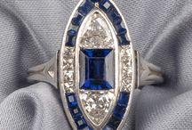 Art Decò gioielli / gioielli e oggetti preziosi dal 1920 al 1940