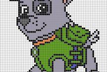 pixel minták