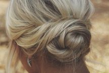 Medium hair up do