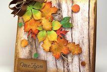 Podzimní karty a tagy