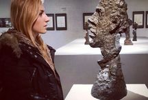 Meeting with Giacometti Artworks