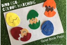 Fun Quiet Books / Fun Felt quiet book ideas!