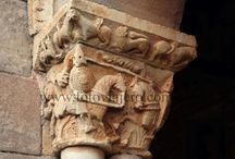 capiteles del románico