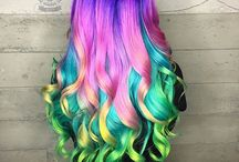 Fantasy Hair Color - Insanely Beautiful Hair Colors / Fantasy hair color photo collection with insanely beautiful hair coloring jobs created by the most talented hair colorists