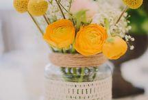 Flores, frutas, velas....
