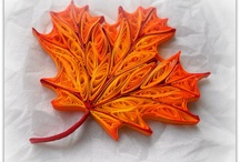 Quilled leaves 2