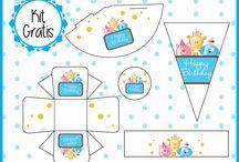 Todo para tu Candy Bar / Kit's súper padrisimos totalmente gratis wohhhhh!!!1