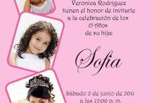 invitacion 15años