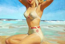 Pin up girls- Vintage / by betty ♥